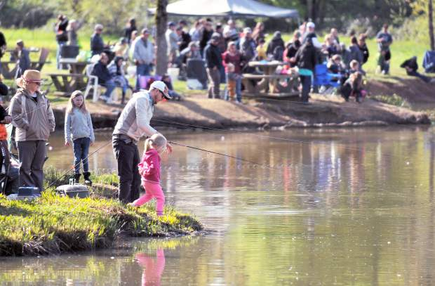 Annual Independence Trout Fishing Derby